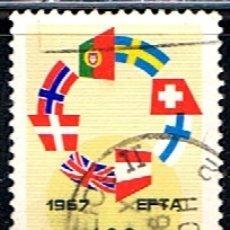 Sellos: (PO 393) SELLO PORTUGAL //YVERT 1024 // 1967. Lote 179323096