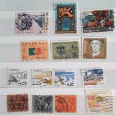 Sellos: PORTUGAL, LOTE DE 14 SELLOS DIFERENTES USADOS. Lote 179538813