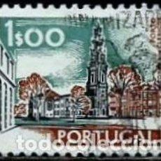 Sellos: PORTUGAL 1972- YV 1137 AFI 1130 (PAISAJES Y MONUMENTOS)[DORSO-1976]. Lote 183509827