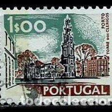 Sellos: PORTUGAL 1972- YV 1137A AFI 1130 (PAISAJES Y MONUMENTOS)[DORSO SIN FECHA-1978]. Lote 183511422