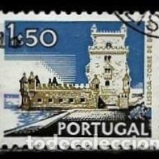 Sellos: PORTUGAL 1972- YV 1138 AFI 1131 (PAISAJES Y MONUMENTOS)[DORSO SIN FECHA-1978]. Lote 183512385