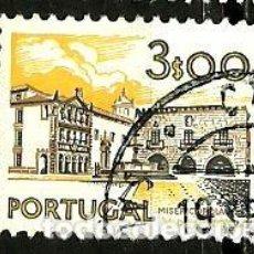 Sellos: PORTUGAL 1972- YV 1139 AFI 1134 (PAISAJES Y MONUMENTOS)[DORSO-1976]. Lote 183513016