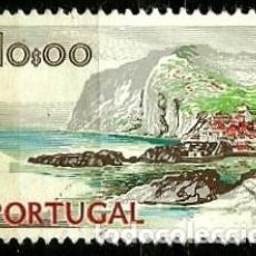 Sellos: PORTUGAL 1972- YV 1140A AFI 1142 (PAISAJES Y MONUMENTOS)[DORSO SIN FECHA-1978]. Lote 183513467