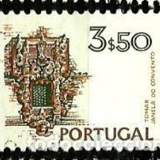 Sellos: PORTUGAL 1972- YV 1193A AFI 1133 (PAISAJES Y MONUMENTOS)[DORSO SIN FECHA-1978]. Lote 183515935