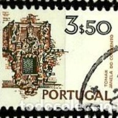 Sellos: PORTUGAL 1973- YV 1194 AFI 1135 (PAISAJES Y MONUMENTOS)(DORSO-1973). Lote 183516718