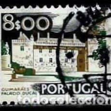 Sellos: PORTUGAL 1973- YV 1195A(B) AFI 1141 (PAISAJES Y MONUMENTOS)(DORSO-1975) FOSFORESCENTE. Lote 183518630