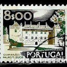 Sellos: PORTUGAL 1973- YV 1195A(C) AFI 1141 (PAISAJES Y MONUMENTOS)(DORSO SIN FECHA-1978). Lote 183518803