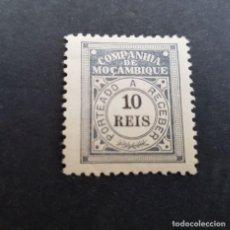 Sellos: COMPAÑÍA MOZAMBIQUE,1906, PORTEADO, AFINSA 2*, YVERT T2*, SCOTT J2*, NUEVO,FIJASELLO, ( LOTE AR ). Lote 184021105