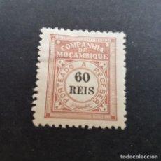 Sellos: COMPAÑÍA MOZAMBIQUE,1906, PORTEADO, AFINSA 6*, YVERT T6*, SCOTT J6*, FIJASELLO, ( LOTE AR ). Lote 184028630