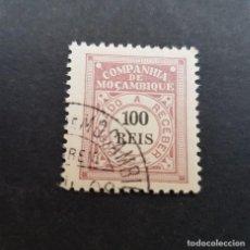 Sellos: COMPAÑÍA MOZAMBIQUE,1906, PORTEADO, AFINSA 7, YVERT T7, SCOTT J7, USADO, ( LOTE AR ). Lote 184028860