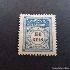 Sellos: COMPAÑÍA MOZAMBIQUE,1906, PORTEADO, AFINSA 8*, YVERT T8*, SCOTT J8*, FIJASELLO, CLAVE, ( LOTE AR ). Lote 184029016