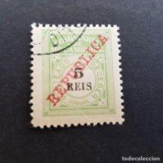 Sellos: COMPAÑÍA MOZAMBIQUE,1911, PORTEADO,SOBRECARGA, AFINSA 11, YVERT T11, SCOTT 11,USADO, ( LOTE AR ). Lote 184030607