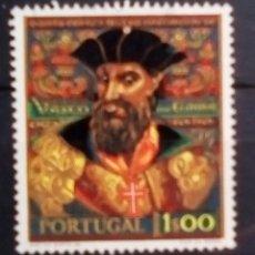 Sellos: PORTUGAL V CENTENARIO DE VASCO DE GAMA SELLO USADO. Lote 184566445