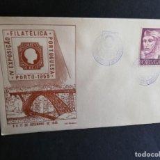 Sellos: SOBRE PRIMER DIA. PORTUGAL. IV EXPOSIÇÄO. FILATELICA PORTUGUESA. PORTO. 1955.. Lote 186135737