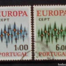 Sellos: PORTUGAL TEMA EUROPA SERIE DE SELLOS USADOS. Lote 189888317