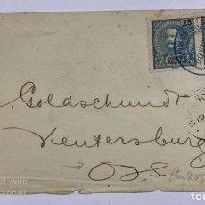 Sellos: CUBIERTA CON SELLO DE 25 REALES DIRECCIONADO A VERTERSBURG. TRANSITO DE RETORNO. CAPITAL KROONSTAD. Lote 190319278