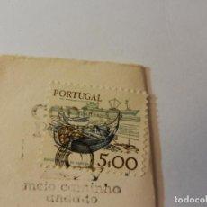 Sellos: SELLO PORTUGAL 5.00 - BARCO DE NAVEGACIÓN. USADO. . Lote 190381801