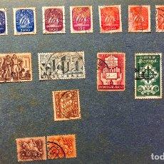 Sellos: LOTE 18 SELLOS ANTIGUOS DE PORTUGAL. Lote 191862191