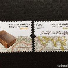 Sellos: PORTUGAL,AÑO 2019. BIBLIA DE ALMEIDA. Lote 193865178