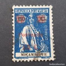Sellos: MOZAMBIQUE,1924, CERES PORTEADO, SOBRETAXA, AFINSA 50, SCOTT J50, USADO, ( LOTE AR ). Lote 194214878