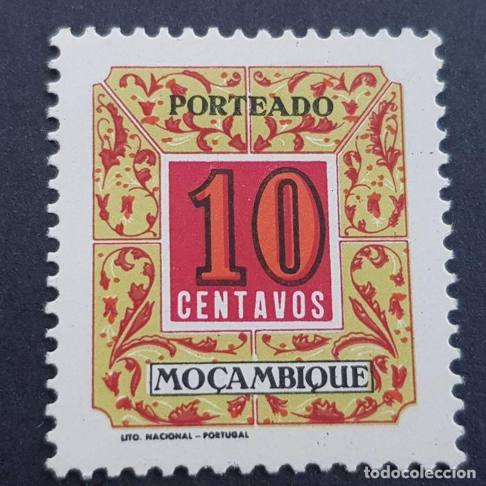 MOZAMBIQUE,1952, CIFRAS PORTEADO, AFINSA 51*, YVERT T52*, SCOTT J51*, FIJASELLO, ( LOTE AR ) (Sellos - Extranjero - Europa - Portugal)