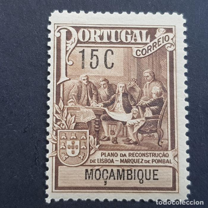 MOZAMBIQUE,1925, TAXA ,MARQUES POMBAL, AFINSA 6*, YVERT 262*, SCOTT RA2*, FIJASELLO, ( LOTE AR ) (Sellos - Extranjero - Europa - Portugal)