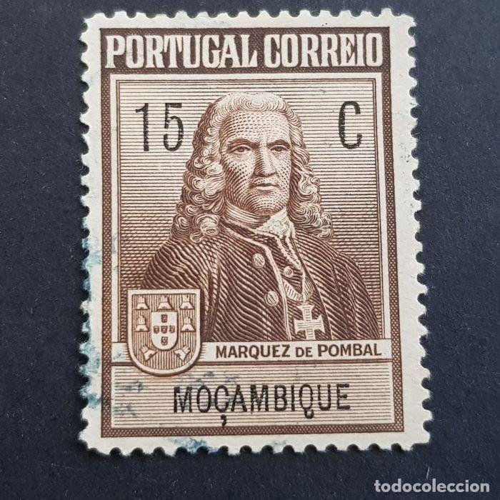 MOZAMBIQUE,1925, TAXA ,MARQUES POMBAL, AFINSA 5, YVERT 261, SCOTT RA1, USADO, ( LOTE AR ) (Sellos - Extranjero - Europa - Portugal)