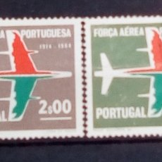 Sellos: PORTUGAL FUERZAS AÉREAS PORTUGUESA SERIE DE SELLOS USADOS. Lote 194285005