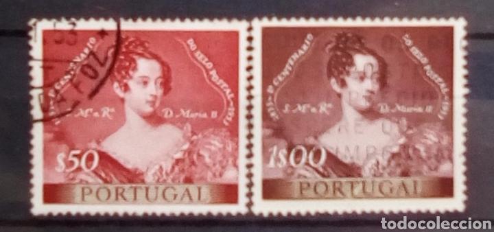 PORTUGAL CENTENARIO DEL SELLO POSTAL (Sellos - Extranjero - Europa - Portugal)