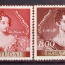 Sellos: PORTUGAL CENTENARIO DEL SELLO POSTAL. Lote 194285340