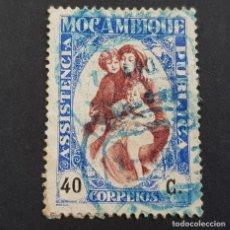 Sellos: MOZAMBIQUE,1929-1931, ASISTENCIA PÚBLICA, AFINSA 34, SCOTT RA31, USADO, ( LOTE AR ). Lote 194322231