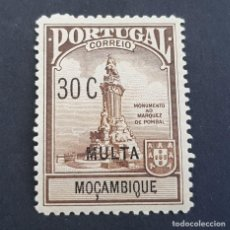 Sellos: MOZAMBIQUE,1925, TAXA, MARQUÉS DE POMBAL, AFINSA 3*, SCOTT RAJ3*, FIJASELLO, ( LOTE AR ). Lote 194940666
