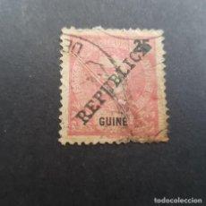 Sellos: GUINÉ, GUINEA PORTUGUESA, 1911, CARLOS I SOBRECARGA, AFINSA 103, SCOTT 100,USADO, ( LOTE AR). Lote 194949342