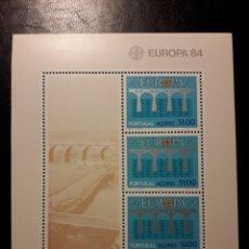 Sellos: AZORES (PORTUGAL). YVERT HB-5 SERIE COMPLETA NUEVA ***. EUROPA CEPT. PUENTES.. Lote 194960421