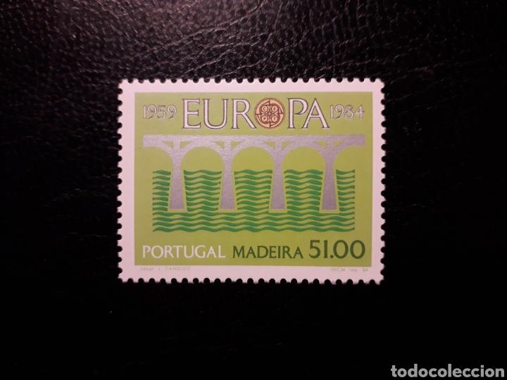 MADEIRA (PORTUGAL). YVERT 95 SERIE COMPLETA NUEVA ***. EUROPA CEPT. PUENTES. (Sellos - Extranjero - Europa - Portugal)