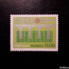 Sellos: MADEIRA (PORTUGAL). YVERT 95 SERIE COMPLETA NUEVA ***. EUROPA CEPT. PUENTES.. Lote 194960617