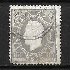 Sellos: PORTUGAL MACAO 1888 SCOTT # 41 - 2/15. Lote 195000115