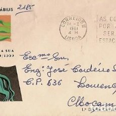 Sellos: PORTUGAL & FDC CENTENARIO DEL DESCUBRIMIENTO WELWITSCHIA MIRABILIS, MOÇAMBIQUE 1961 (9162). Lote 195031548