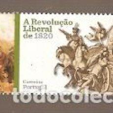 Sellos: PORTUGAL ** & REVOLUCIÓN LIBERAL DE 1820-2019 (1592). Lote 195047511