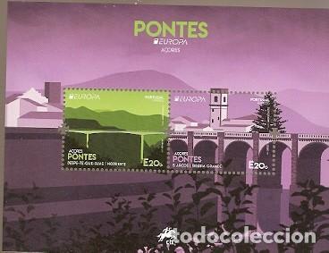 PORTUGAL ** & EUROPA CPTE AZORES, PUENTES 2018 (3243) (Sellos - Extranjero - Europa - Portugal)