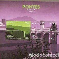 Sellos: PORTUGAL ** & EUROPA CPTE AZORES, PUENTES 2018 (3243). Lote 195047878