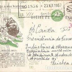 Sellos: PORTUGAL & CONOZCA SU HISTORIA, SÃO JOÃO DE DEUS, VILA VIÇOSA A LISBOA 1957 (1688). Lote 195191355