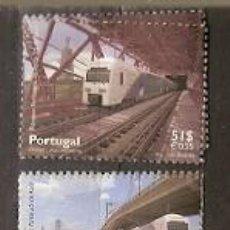 Sellos: PORTUGAL ** & CRUCE FERROVIARIO DEL PONTE 25 DE ABRIL DE 1999 (2608). Lote 195192221