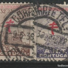 Sellos: LOTE Y-SELLOS PORTUGAL VIÑETAS. Lote 196353746