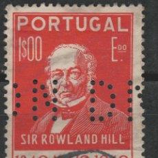 Sellos: LOTE Y-SELLO PORTUGAL TALADRO. Lote 196353781