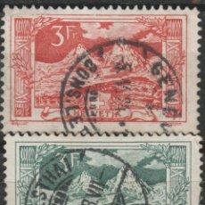 Sellos: LOTE Y-SELLOS SUIZA ALTO VALOR 1914-18. Lote 196354045