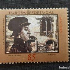 Sellos: MADEIRA, YVERT 164**, EUROPA 1992 DESCUBRIMIENTO. Lote 196604123