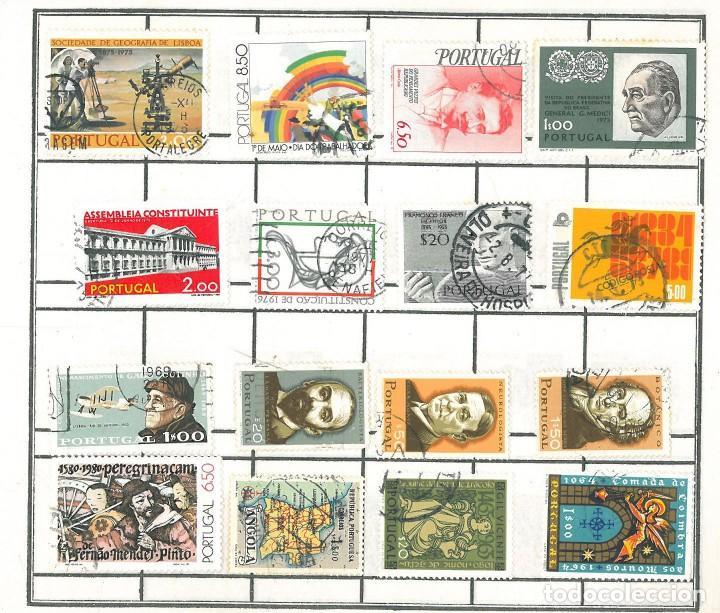 Sellos: ÁLBUM SELLOS - TIMBRE POSTAL PORTUGAL - Foto 3 - 197115828