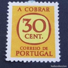 Sellos: PORTUGAL, 1967-1984, PORTEADO, TAXA, TASA, AFINSA 67, YVERT 71, SCOTT J67,NUEVO SIN GOMA ( LOTE AR ). Lote 198614086