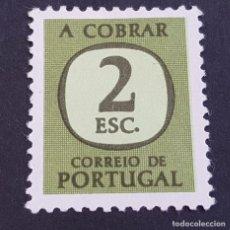 Sellos: PORTUGAL, 1967-1984, PORTEADO, TAXA, TASA, AFINSA 73, YVERT 77, SCOTT J73,NUEVO SIN GOMA ( LOTE AR ). Lote 198614170